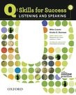 Q Skills for Success Listening and Speaking 3 Student Book with Online Practice cover