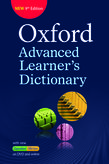 Oxford Advanced Learner's Dictionary, 9th  Edition [cou_it_it_g]