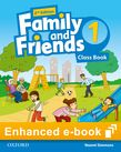 Family and Friends Level 1 Class Book e-book cover