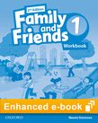 Family and Friends Level 1 Workbook e-book cover
