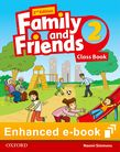 Family and Friends Level 2 Class Book e-book cover