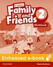 Family and Friends Level 2 Workbook e-book cover