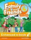 Family and Friends Level 4 Class Book e-book cover