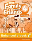 Family and Friends Level 4 Workbook e-book cover