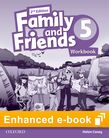 Family and Friends Level 5 Workbook e-book cover