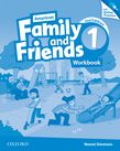 American Family and Friends Level One Workbook with Online Practice cover