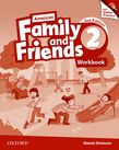 American Family and Friends Level Two Workbook with Online Practice cover