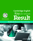Cambridge English: Key for Schools Result Workbook Resource Pack with Key cover