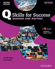 Q Skills for Success Intro Level Reading & Writing Student e-book with iQ Online - buy codes for institutions cover