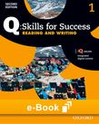 Q Skills for Success Level 1 Reading & Writing e-book - buy codes for institutions cover