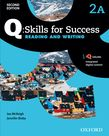 Q Skills for Success Level 2 Reading & Writing Split Student Book A with iQ Online cover