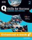 Q Skills for Success Level 2 Reading & Writing Student e-book with iQ Online - buy codes for institutions cover