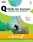 Q Skills for Success Level 3 Listening & Speaking e-book - buy codes for institutions cover