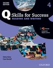 Q Skills for Success Level 4 Reading & Writing Student e-book with iQ Online - buy codes for institutions cover