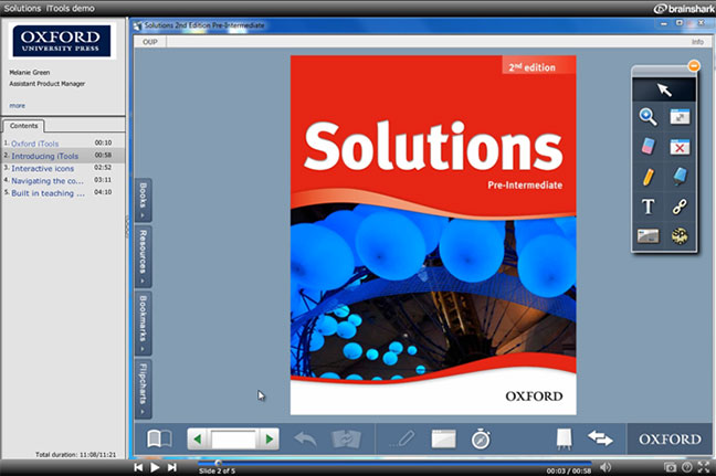 Solutions iTools Brainshark screenshot