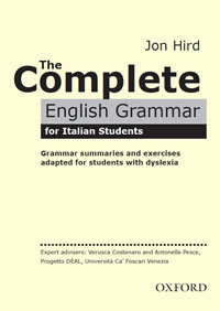 The Complete English Grammar for Italian Students Cover