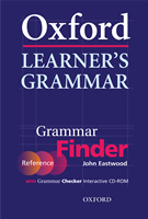 Oxford Learner's Grammar - Finder