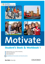 Motivate Studet's Book & Workbook 1