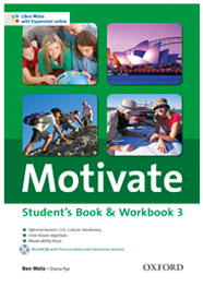 Motivate Student's Book & Workbook 3